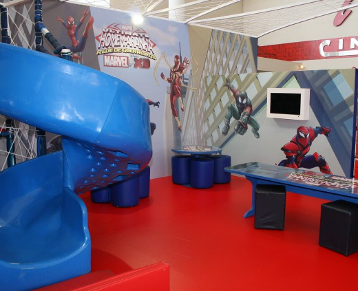 Cenário Disney - Frozen e Spider Man