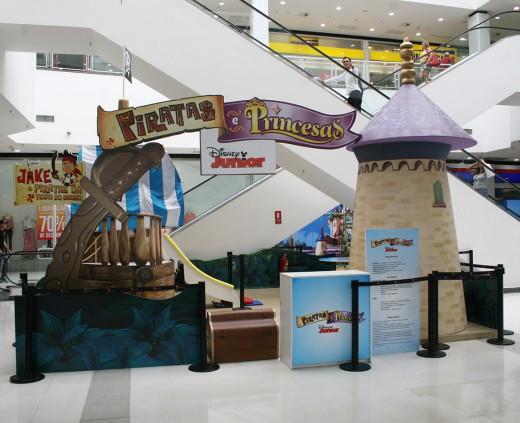 Cenário Disney - Piratas e Princesas